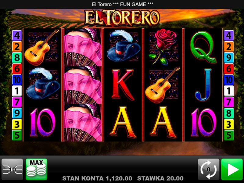 El Torero Spielautomat