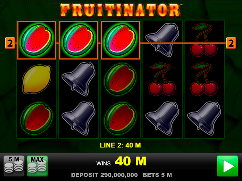 Slot Machine Fruitinator Gratis